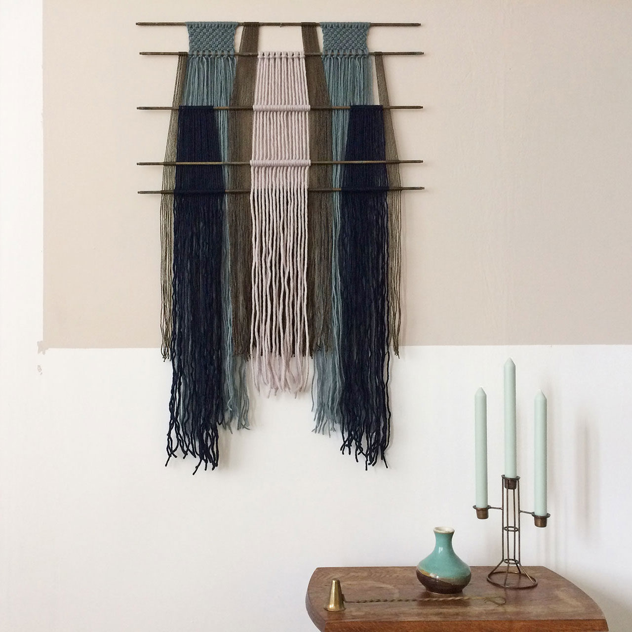 Wall Hangings With Different Dowels 183 Annienke