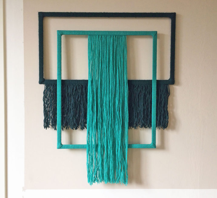 YARN WRAPPED FRAMES